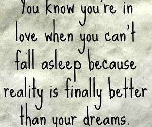 love, quotes, and dreams image