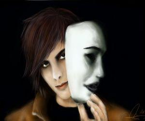 deviantart, mask, and tim image