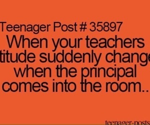teacher, funny, and quote image