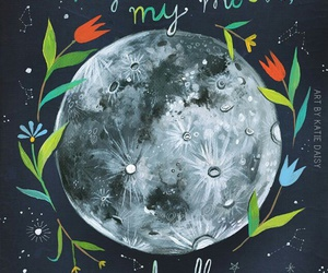 quotes, moon, and creativity image