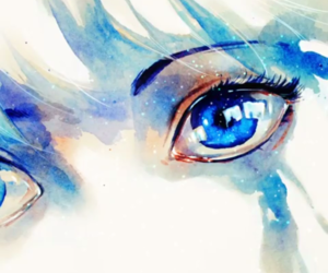 art, drawings, and blue image