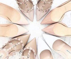 christian louboutin, closet, and Nude image