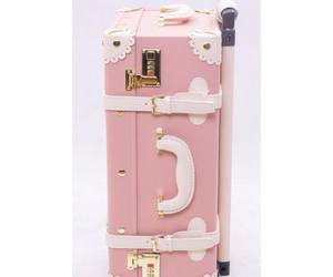 adorable, suitcase, and luggage image