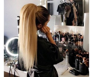 hair, blonde, and luxury image