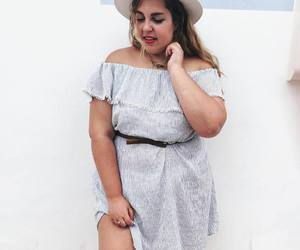 body positive, curvy, and fashion image