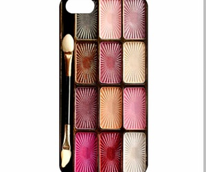 make up eye shadow and phone case cool wow image