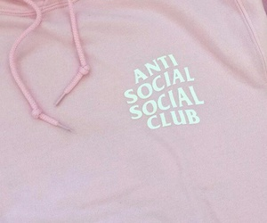 antisocial, club, and pink image