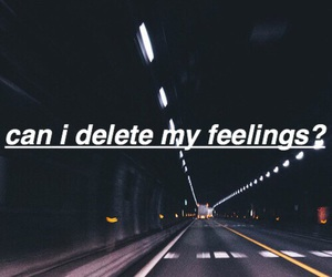 quotes, dark, and feelings image