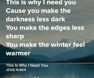 Lyrics, quotes, and winter image