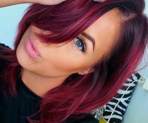 hair, color, and red image