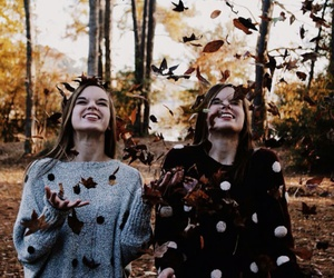 autumn, girls, and fall image