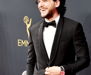 kit harington, emmys, and game of thrones image