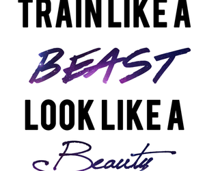 beast, beauty, and quote image