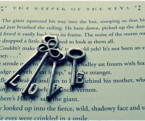 love, key, and book image