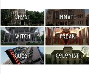 asylum, freak show, and hotel image