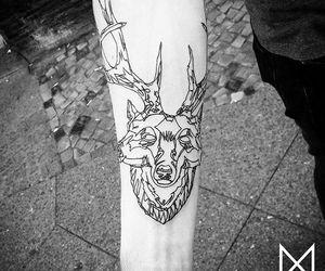 ink, wolf, and mo ganji image