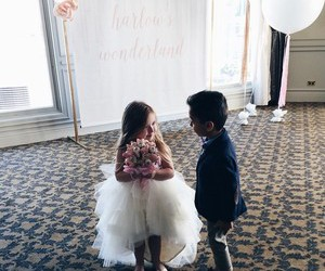 kids, wedding, and cute image