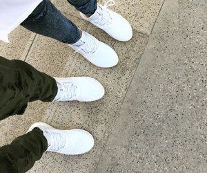 adidas, couple, and details image