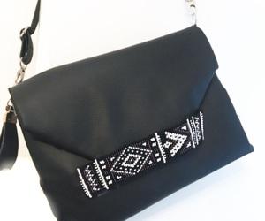 bag, beaded, and boho image