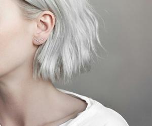girly, white, and grey image