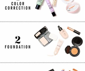 Foundation, makeup, and tips image
