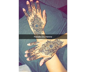henna, oriental, and snap image