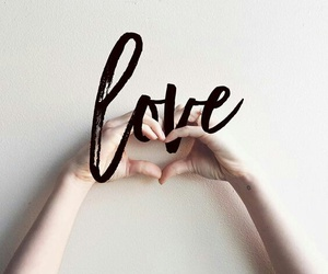 hands, heart, and message image