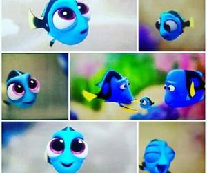 dory, disney, and fish image