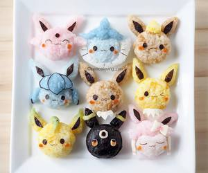 asian, eevee, and evolution image
