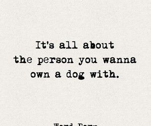 quotes, love, and dog image