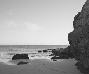 beach, lagos, and black and white image