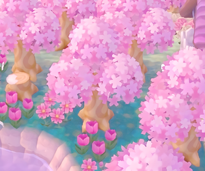 flower and pink aesthetic image