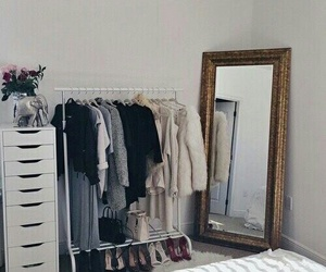 room, clothes, and bedroom image