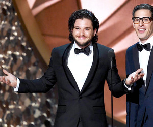 emmys, game of thrones, and jon snow image