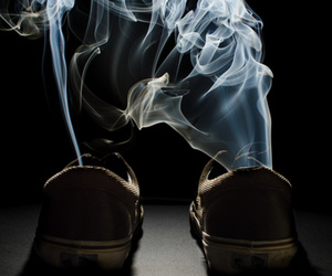 dark and smoke image