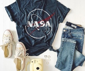fashion, outfit, and nasa image