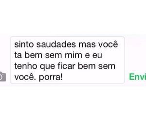 chat, quotes, and saudade image