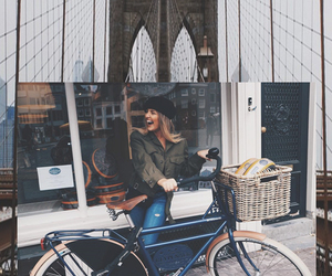 background, beauty, and bicycle image