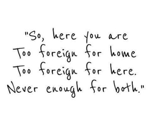 foreign, home, and quotes image