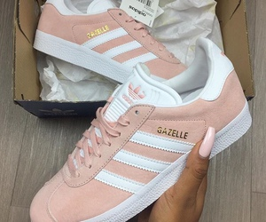 luxury, trainers, and pink image