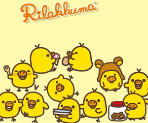 wallpaper, kawaii, and rilakkuma image