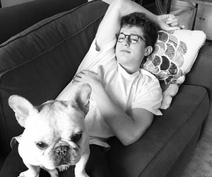 charlie puth, dog, and singer image