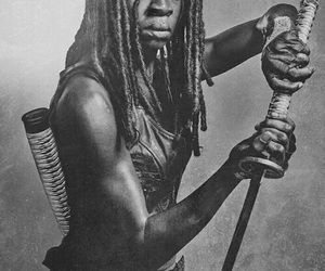 twd, michonne, and the walking dead image
