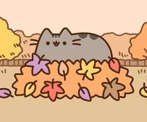kawaii and pusheen image