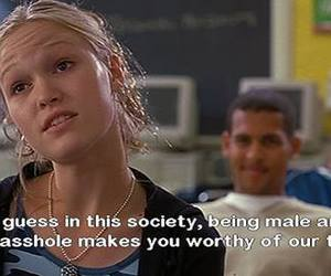 10 things i hate about you, quotes, and asshole image
