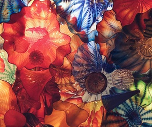 art, chihuly, and glass image