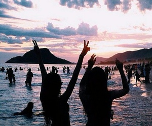 atardecer, bestfriends+, and playa image