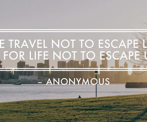 girl, quotes, and travel image