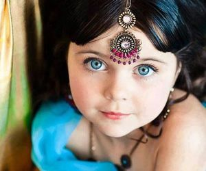 arabic, eyes, and hair image