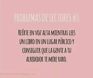 book, problem, and lectores image